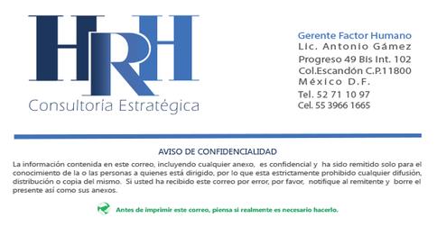 HRH Consultoria Estratégica S.C.