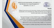 empleos de herrero en SERVICOS DE INGENIERIA, DESARROLLO DE PROYECTOS Y MANTENIMIENTO GENERAL S.A DE C.V