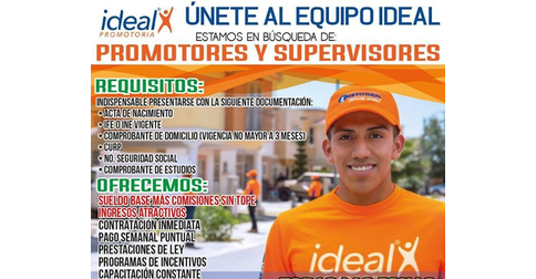 Ideal Promotoria Telcel