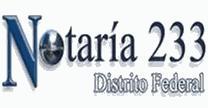 Notaria 233