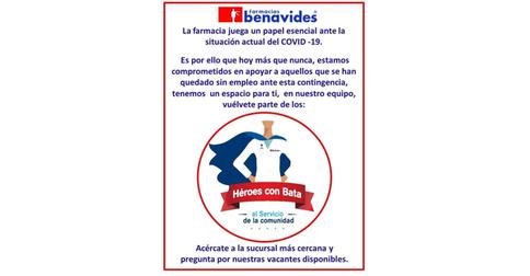 empleos de medico general en Farmacias Benavides