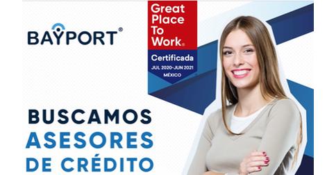 empleos de asesor de creditos en Bayport