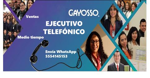 empleos de representante de ventas en Gayosso