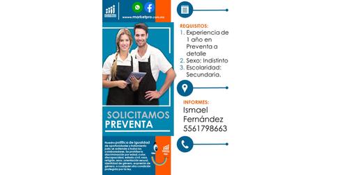 empleos de preventista en Pro Market