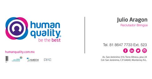 empleos de bilingual agents triple play provider en HumanQuality