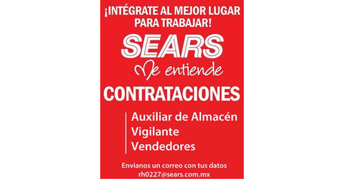 empleos de vendedor multifuncional en Sears