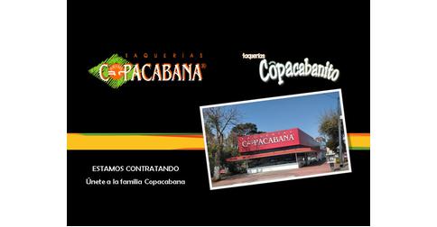 empleos de mesero vendedor en TAQUERIAS BRASIL COPACABANA