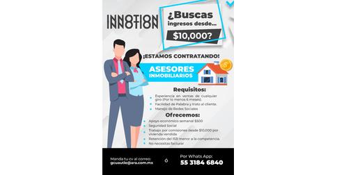 empleos de asesor de ventas para comercializacion de vivienda en CASAS ARA