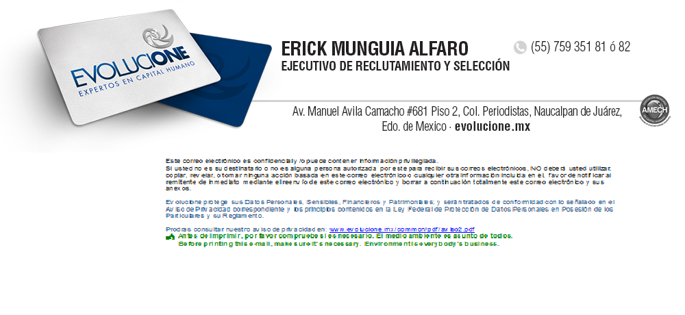 Perfil de Erick Munguía